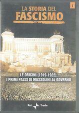LA STORIA DEL FASCISMO,Vol 1, LE ORIGINI (1919-1922) - AA. VV. - DVD
