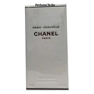 CHANEL PARIS - DEAUVILLE * 4.2 oz (125ml) EDT Spray * NEW & SEALED (Exclusive)