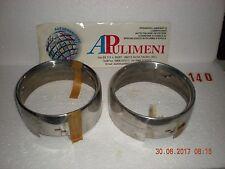 COPPIA CORNICE FARO (HEADLIGTH RING TRIM) ALFA ROMEO GIULIA 1750 BERLINA 1°-2° S