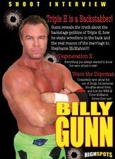 Billy Gunn Shoot Interview DVD Wrestling WWE WWF TNA DX