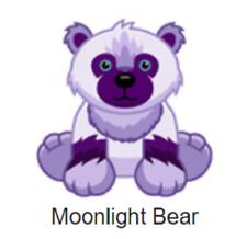 Webkinz Classic Moonlight Bear *Code Only* (~limited edition pet~)