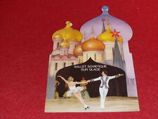 [BALLET DANSE] BALLET SOVIETIQUE sur GLACE 1977 Programme Ice skating