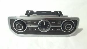 Clock With Controls PN: CH22-18C858-BB OEM 2015 Land Rover LR4