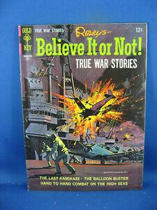 RIPLEYS BELIEVE IT OR NOT 5 VF TRUE WAR STORIES 1967
