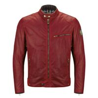 Belstaff Ariel Racing Caferacer Red T11931 - overall sold out - NEW