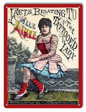 Nostalgic Mlle Aimee The Tattooed Lady Sign 9X12