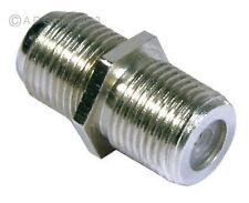 F Plug Type Female to Female Screw Connector Socket - Socket Coupler Joiner