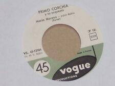"PRIMO CORCHIA -Maria Morena- 7"" 45 rotes Vinyl"
