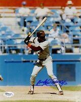 Sandy Alomar Jr Padres Signed Jsa Cert Sticker 8x10 Photo Authentic Autograph