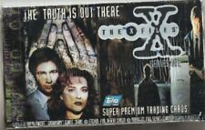 1995 95 Topps X-Files Box Gillian Anderson Dana Scully David Duchovny Fox Mulder