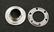 Stainless Steel SP6 Eyelets and Spur Washers 50 pack