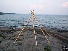 Poles for a 10ft/3.3meter Lavvu (tipi/tepee/yurt/ger)