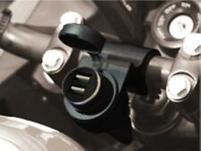 PRESA ACCENDISIGARI 12V PER MOTO + DOPPIA PRESA USB ESTRAIBILE CODICE P12USB DUA