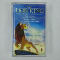 Disney's The Lion King Soundtrack Cassette Various Artists