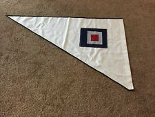 Large High Quality Cloth Letter W Nautical Code Alphabet Flag. A9