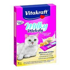Vitakraft Snacks para Gatos Milky MELODY QUESO - 11 x 70g - CREMA DE LECHE