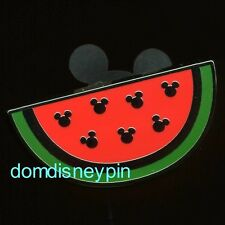 Disney Pin WDW 2017 Hidden Mickey Series - *Fruit Icons* - Watermelon Slice!