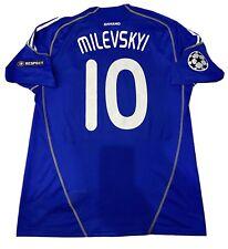 MATCH WORN AJAX - DYNAMO KIEV T-SHIRT MATCH WORN 09/10 Shirt Dynamo Dinamo Kiev