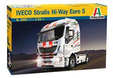 Italeri 3899 1/24 Scale Lorry Truck Model Kit Iveco Stralis 560 Hi-Way Euro 5