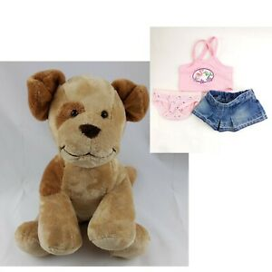 "Build A Bear Allergy Asthma Friendly Barking Puppy Dog 14"" Plush Hello Kitty"