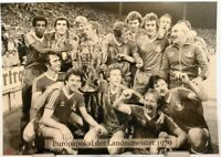 Nottingham Forest + Europapokal der Landesmeister Winner 1979 Fan Big Card A117