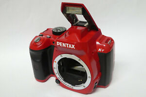 Pentax K-R  Gehäuse / Body  16900 Auslösungen gebraucht KR rot