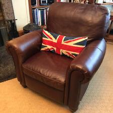 Beautiful Natuzzi Italian leather recliner armchair (Barker & Stonehouse)
