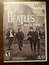 THE BEATLED ROCKBAND - WII - COMPLETE W/ MANUAL - FREE S/H - (B32A)