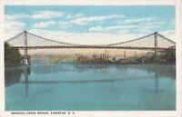 Kingston, NEW YORK - Rondout Creek Bridge - 1920 - Swastika
