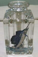 VINTAGE INK WELL-SIGNED HAND- PAINTED SAILFISH