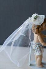 New ListingVintage Madame Alexander Wendy doll Bride Hat &Veil fits Vogue Ginny (no doll)