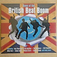 2CD NEW - DAWN OF THE BRITISH BEAT BOOM - Rock & Roll Pop Music 2x CD Album