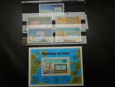 S861  STAMPS  CHAD  1977  ZEPPELIN  SET  +S/S  MNH