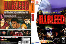 IllBleed CUSTOM DREAMCAST CASE (NO GAME)