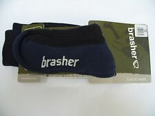 Brasher Walking socks size 3-5 COOLMAX MULTI ACTIVITY SOCK hiking walk new blue