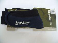 Brasher Calzini Passeggio TG 3-5 Coolmax multi attività Calzino Trekking Passeggiata NUOVO blu