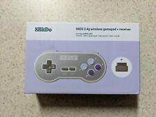 8Bitdo SN30 2.4G Wireless Gamepad for Original SNES/SFC SN Edition IN HAND!!!