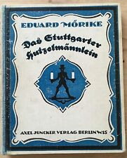 Sihouetten. Scherenschnitte. - Mörike, Eduard. Stuttgarter Hutzelmännlein. 1919