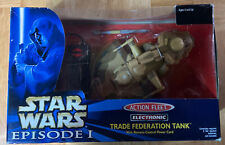 Star Wars Episode 1 Action Fleet Electronic Trade Federation Tank with Remote