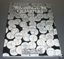 H.E. Harris & Co. Washington State Quarters Folder Volume I, 1999 to 2003