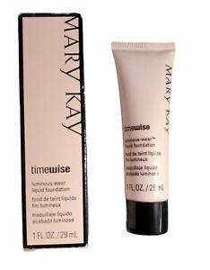 Mary Kay Timewise Luminous Wear Liquid Foundation 1 fl. Oz. Ivory 4 038699