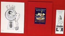 GIARDINO EVA MIRANDA SCRATCH BOOK LIMITED VITTORIO GIARDINO signed