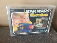 1979 KENNER STAR WARS GIVE A SHOW PROJECTOR CASE FRESH STUNNING AFA 80 WOW LOOK!