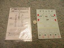 Microscale decals 1/72 72-172 P-38 Lightnings   N38