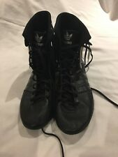 Adidas Black Boxing Boots Size UK 7.5 / FR 41.1/3 / US 9