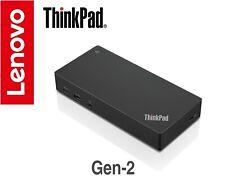 Lenovo ThinkPad USB-C Gen 2 Dock 4K UHD HDMI & DisplayPort 40AS0090AU Warranty