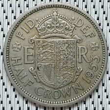 GREAT BRITAIN - 1953 - 1/2 Crown Elizabeth II #CAUF