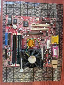 P4S5MG/GL+ Elitegroup Motherboard + Pentium CPU + Elixir 1GB DDR 400MHz RAM