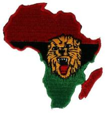 Lion of Judah Patch Africa Rasta Reggae