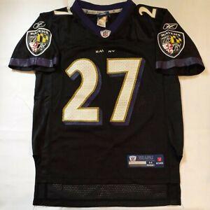 Reebok Baltimore Ravens Ray Rice #27 Football Black Alternate Jersey Youth M